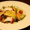 ビストロカタオカ - 料理写真:魚介マリネとクスクスのサラダ仕立て
