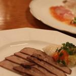 ステーキレストランそうま - 牛タンのマリネ これもとってもおいしい♡