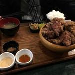 媛 今治焼き鳥の旅 - がっつり(10個)定食  700円