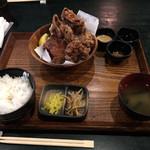 媛 今治焼き鳥の旅 - 小(5個)定食  600円