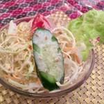 Maya - サラダはシンプルに。。。