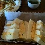 砂時計 - 美味しかった玉子サンド
