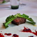 ピ・グレコ - <2016年3月>桜肉のステーキ。