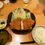 4914476 - ジャンボロースカツ定食(1,680円)