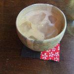 手ぬぐいカフェ 一花屋 - チャイ(600円)