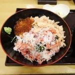 totoguranemuro - ねむろ丼
