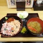 totoguranemuro - ねむろ丼定食