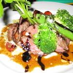トラットリア360° - 和牛ランプ肉
