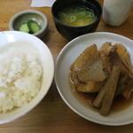 辰巳 - めぬけ煮付け定食