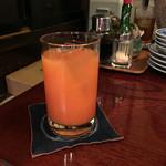 りゃん亭 - 乾杯のカンパリオレンジ♡