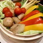 錦町酒場せいろやげんさん - 野菜せいろ蒸し 野菜甘ーーーい♪