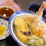 あらや - 料理写真:天丼ランチ
