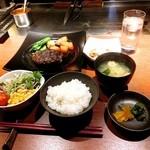 49145065 - 熟成和牛ハンバーグステーキ 180g 鬼おろしポン酢 1400円