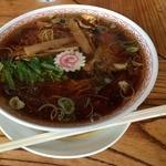 こだま食堂 - スープの色は濃い