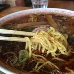 こだま食堂 - 普通の中華麺の太さ