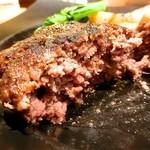 49148608 - つなぎを一切使っていない肉肉した和牛ハンバーグ!