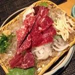 Gorohachi - 鮮馬刺盛合せ