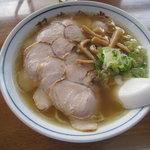 双葉食堂 - チャーシュー麺(平成22年8月22日再訪)