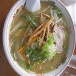双葉食堂 - 野菜ラーメン(平成22年8月22日再訪)