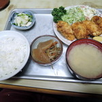 あるぷす - カキフライ定食850円