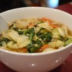 京華樓 - 五目刀削麺