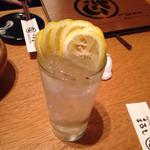 居酒屋まるし - レモンサワー