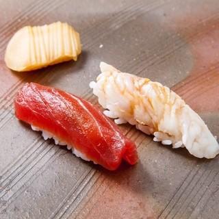 店主の信条でこだわりの寿司を追求