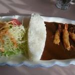ビストロ 傳刀 - 料理写真:黒部ダムカレー(税込み1200円)