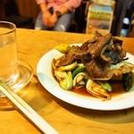 岸田屋 - 肉どうふ