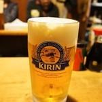 岸田屋 - 生ビール
