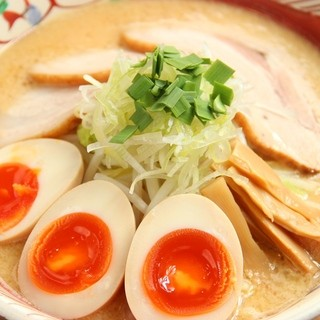人気No1!!「味玉味噌麺」