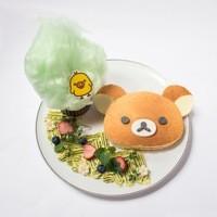 HARAJUKU BOX CAFE&SPACE - リラックマパンケーキ ~はちみつの森~ ¥ 1,480(税抜)