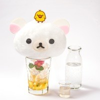 HARAJUKU BOX CAFE&SPACE - コリラックマのふわふわはちみつソーダ ¥ 980(税抜)