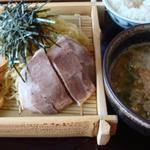 博多ラーメンうしじま - つけ麺1_2009年9月