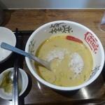 49159720 - 姫坦々麺ご飯投入
