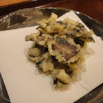 古拙 - とび茸の天ぷら