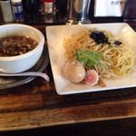 49160104 - くん玉つけ麺  醤油