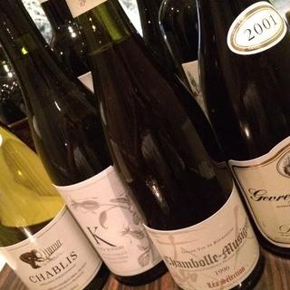 スペインを中心とした約30種のワイン