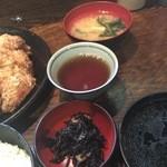 串エ門 - ヒジキと味噌汁