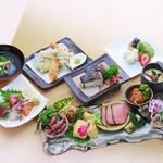 魚菜うえぱら - 料理写真:うえぱら会席 3000円
