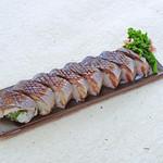 魚菜うえぱら - 特製炙り鯖寿司 1本1200円