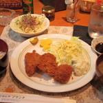ごはんやブランチ - 料理写真:Bランチ(730円)コーヒー付き