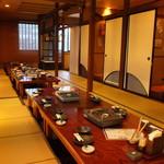 ごはん居酒屋 ばんげ - テーブルを繋げて最大30名様の宴会などに最適です。