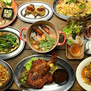 本格タイ料理をミナミで堪能♪