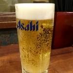徳 - 生ビール