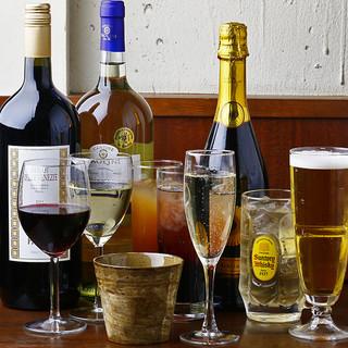 美味しさを引き立たせる厳選イタリアンワイン!