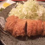 とんかつ かつ庄 - 丸揚げヒレかつ膳 大(2,080円)