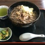 関野家 - 冷たい肉そば ¥600