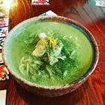 豆乳ラーメン専門店 豆禅 - 料理写真:クロレラ豆乳ラーメン