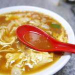 49175145 - カレーラーメンのスープ